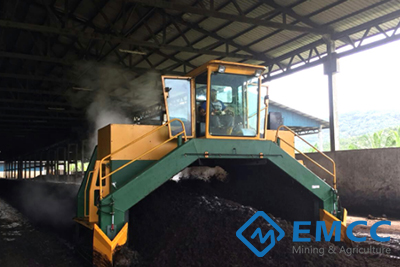 Hydraulic Compost Turner 4