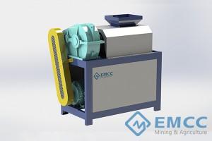 Granulador de compresión (Rodillo doble)