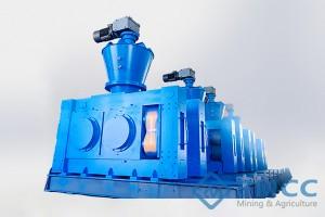 Granulador de Compresión de Polvo Seco